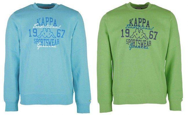 Kappa Atoll Herren Sweatshirts für je nur 4,44€ + VSK (statt 10€)
