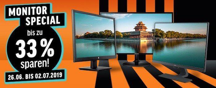 Bis 33% Rabatt auf ausgewählte Monitore bei Notebooksbilliger   z.B. Acer Predator XB321 für 607€ (statt 721€)