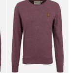 "Naketano Herren Sweatshirt ""Al K.Ohol"" in Bordeaux für 29,67€ (statt 45€)"
