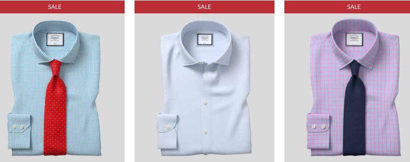 Flash Sale: 20% Staffel Rabatt bei Charles Tyrwhitt   auch im Sale anwendbar (kein MBW)