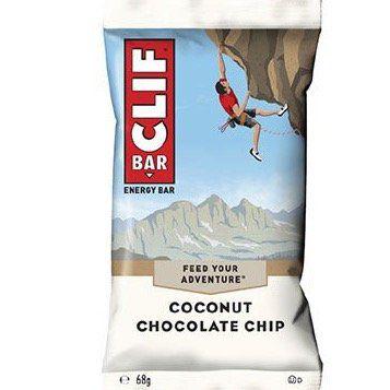 Clif Bar Coconut Chocolate Chip (12x 68) für 11,63€ (statt 23,88€)   oder 26x für 20,24€