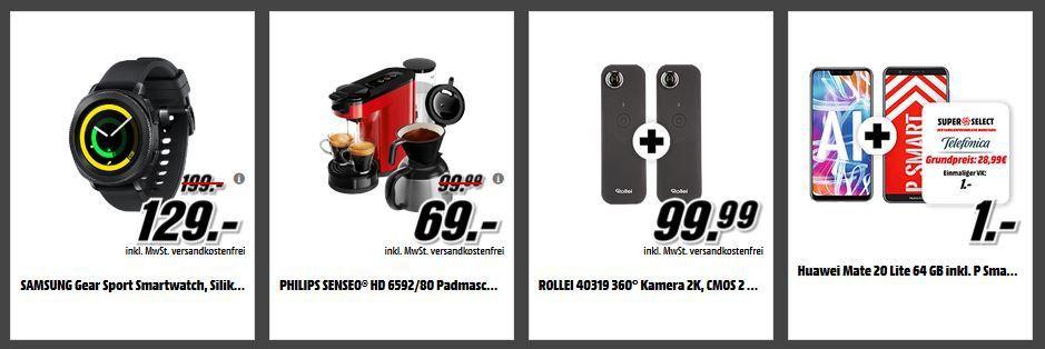 Media Markt Smart Tiefpreiscouch: z.B. Doppelpack ROLLEI 40319 360° Kamera für 77€ (statt 169€)