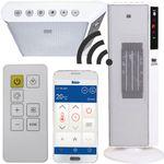 Fakir HT 700 Wifi – Turmheizlüfter mit Fernbedienung u. App Steuerung für 34,99€ (statt 95€)