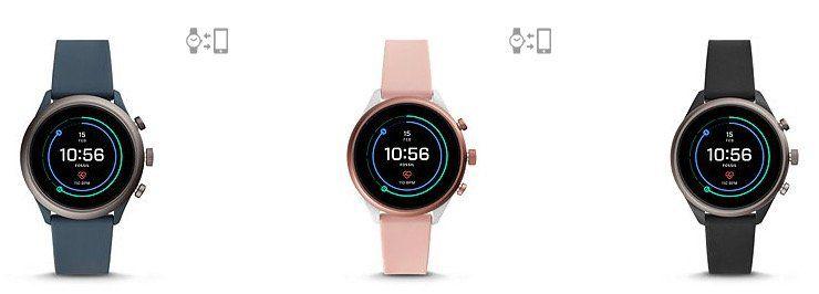 Fossil Smartwatch Sport in vielen Farben für 219€ (statt 279€)