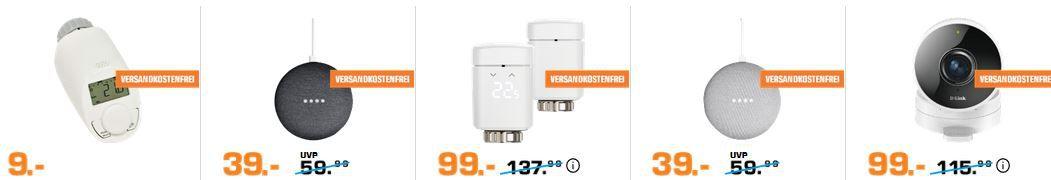 Saturn Late Night smart Home & Lichter Nacht: z.B. GOOGLE Home Max Smart Speaker für 303€ (statt 399€)