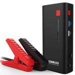 Gooloo Auto Starthilfe GP37-Plus mit 800A und 18000mAh Akku für 49,99€ (statt 80€)