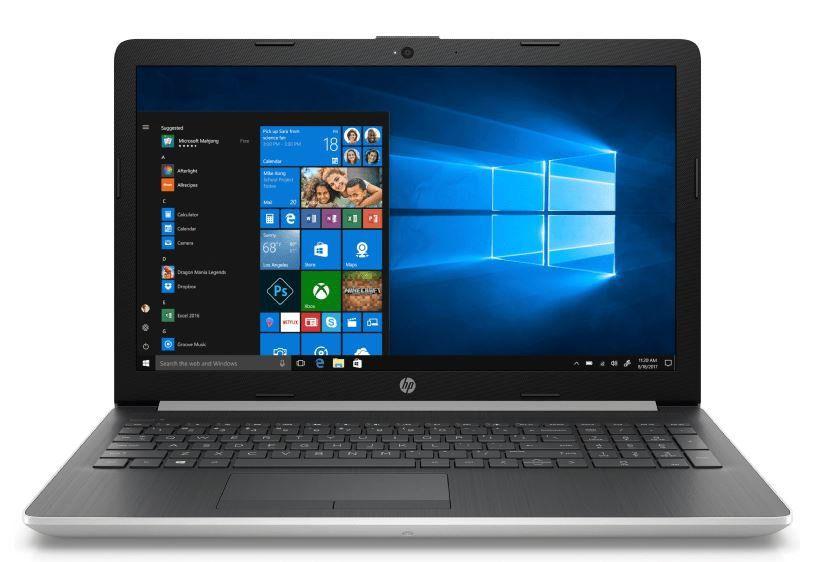 HP 15 db0320ng  15.6 Zoll Notebook mit AMD Ryzen 5 + 12 GB RAM, 1 TB HDD, 128 GB SSD für 499€ (statt 544€)