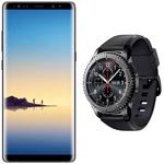 Samsung Galaxy Note8 & Gear S3 frontier für 40€ + Vodafone Flatrate mit 2 GB Datenvolumen für 26,99€ mtl.