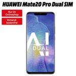 Huawei Mate 20 Pro für 49€ + Vodafone Allnet-Flat mit 2GB  LTE für 26,99€ mtl.