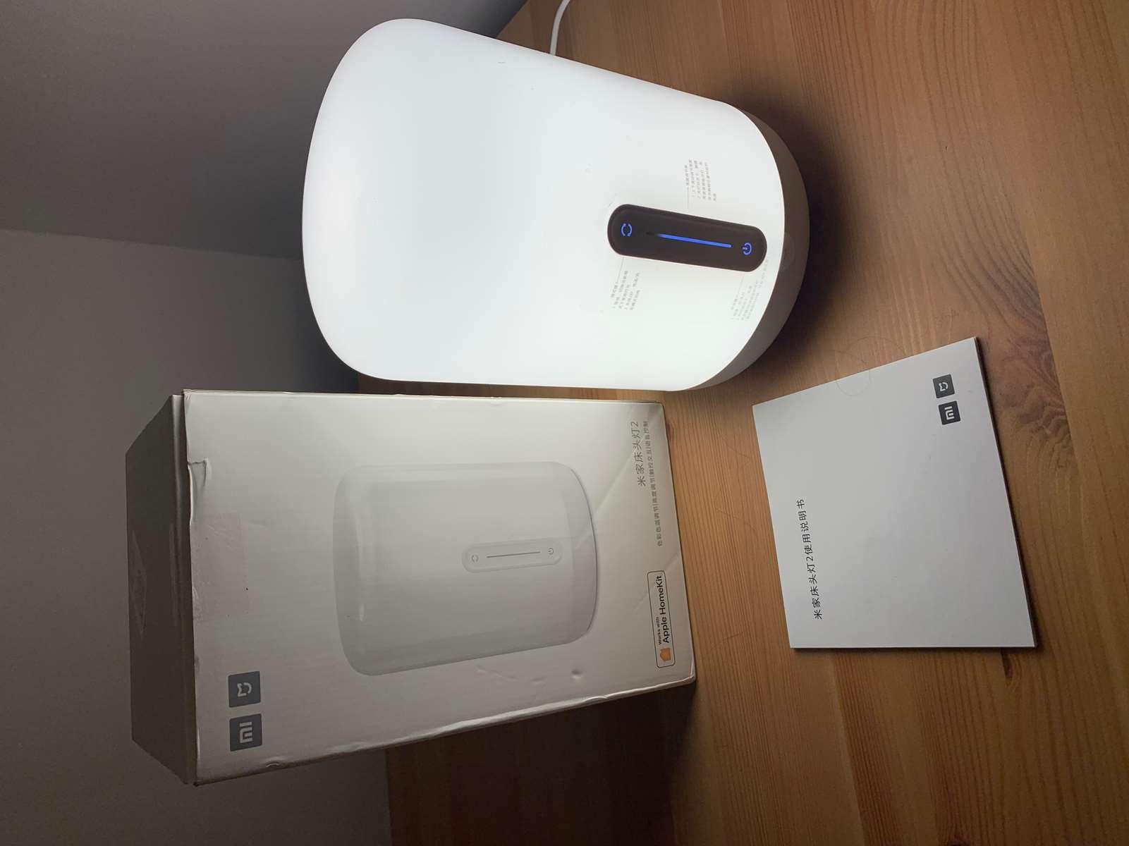 Test der MIJIA MJCTD02YL Simple Shape LED Bedside Lamp