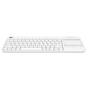 Logitech K400 Plus Wireless Touch Tastatur in Weiss ab 24€ (statt 32€)