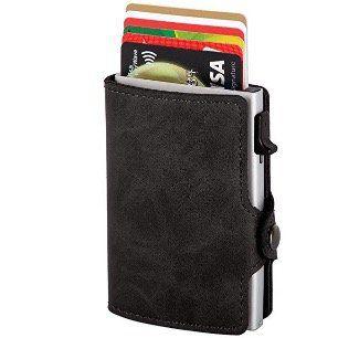 Kreditkartenetui mit Geldklammer & RFID Schutz für 9,99€ (statt 20€)
