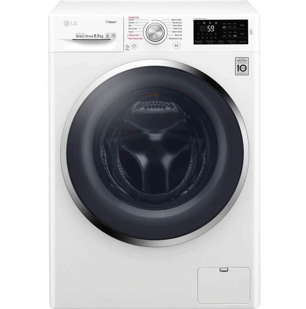 LG F14WM8P5KG   8,5 kg Waschmaschine mit Dampf Funktion für 369,90€ (statt 444€)