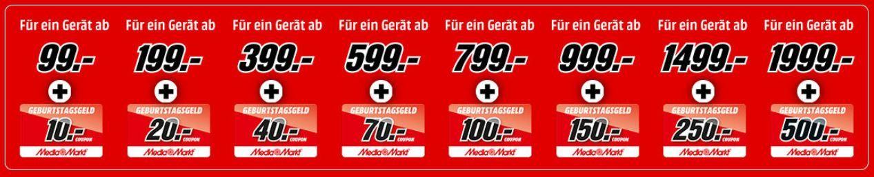 Endet heute! Media Markt Prospekt Staffel Rabatt (auch auf Gaming und TVs)   bis zu 500€ Gutscheine 🔥