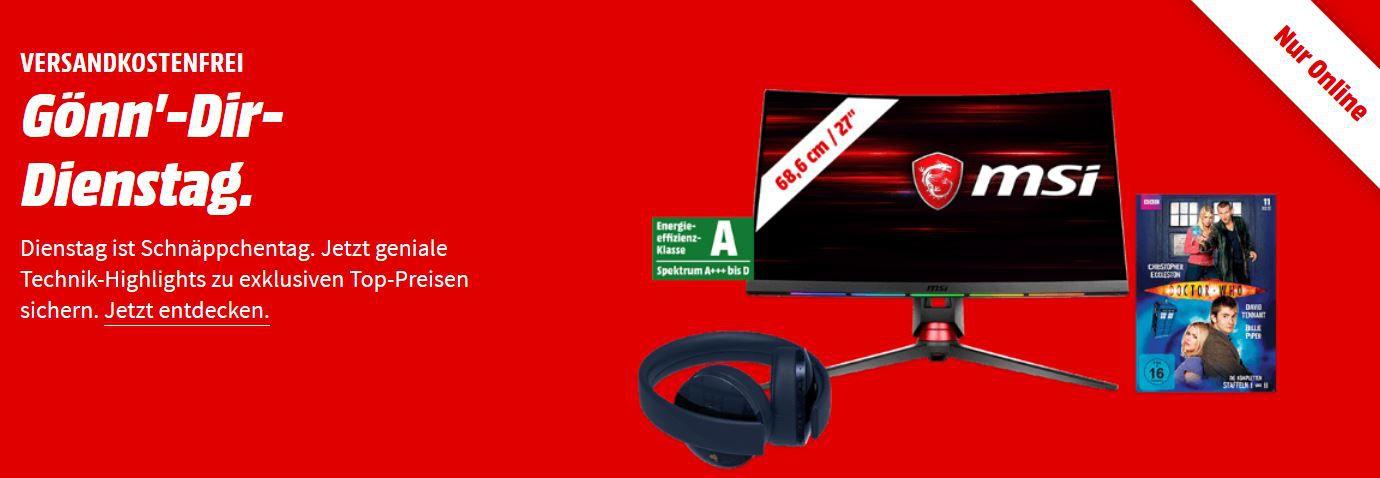 LOGITECH G29 Driving Force Rennlenkrad für 199€ uvm. im Media Markt Dienstag Sale