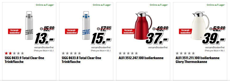 Großer Media Markt Haushalt Sale: z.B. ECHTWERK Sarre 12 tlg. Steakbesteck Set für 20€ (statt 29€)