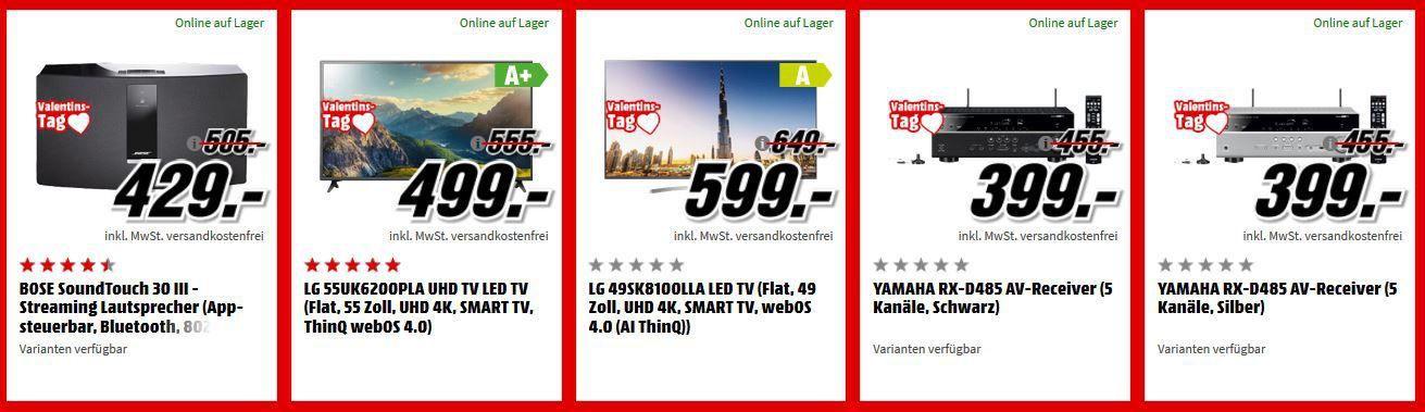 ♥ Media Markt Valentinstags Kracher! Viele gute Angebote!?
