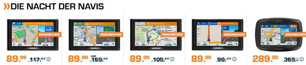 Saturn Late Night Navi Shopping: TOMTOM GO Essential 5 PKW Navigationsgerät für 169,99€ (statt 198€)