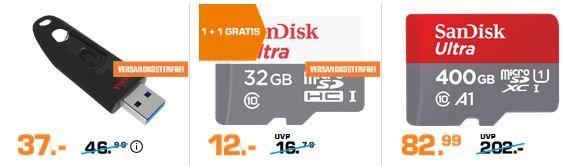 Saturn Late Night SANDISK Shopping: günstiger Speicher z.B. Western Digital Elements Portable 750GB für 39€