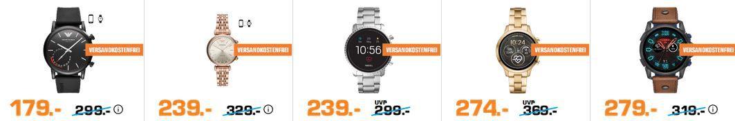 Saturn Wearables Late Night: günstige Sporttracker   z.B GARMIN Fenix 5 Smartwatch für 319€