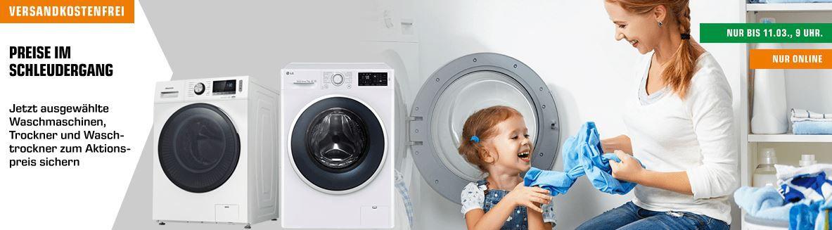 Saturn Waschmaschinen Sale: z.B. HOOVER Dynamic Next 9 kg Wärmepumpentrockner für 389€ (statt 484€)