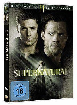 Supernatural   Die komplette elfte Staffel (6 DVDs) für 14€ (statt 18€)
