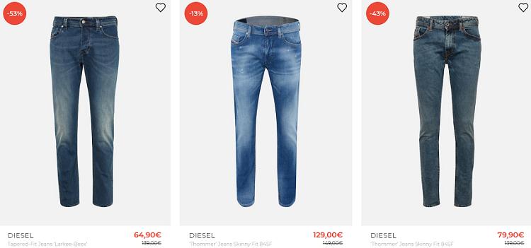 Diesel Jeans ab 45,43€   z.B. Jeans Thommer 845F für 52,43€ (statt 75€)