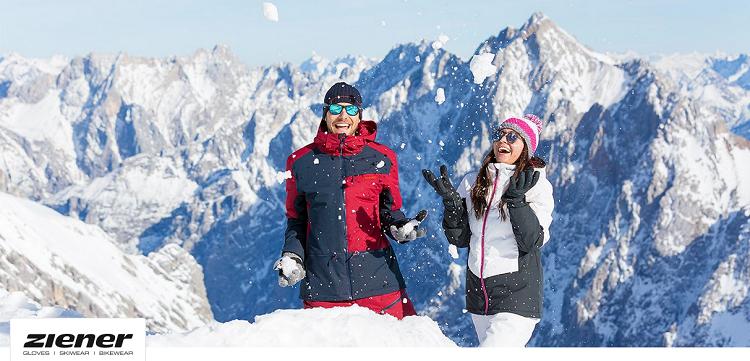 Ziener Ski  und Fahrradbekleidung bei Vente Privee   z.B. Skijacke Truckee ab 89,99€ (statt 131€)