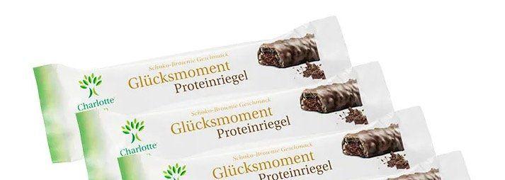 10 Glücksmoment Proteinriegel Schoko Brownie für 4,48€ (statt 14,50€)