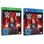 WWE 2K19 für die Xbox und die PS4 für nur 9€ (statt 22€)