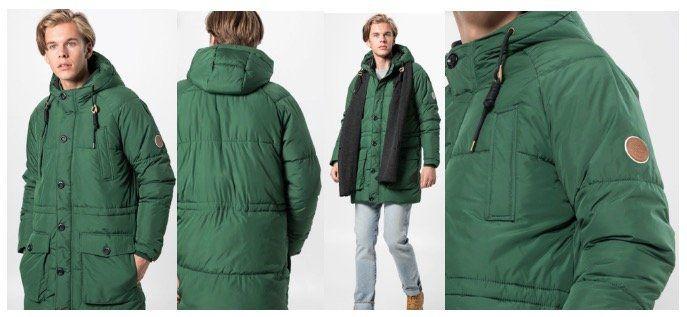 Jack & Jones Herren Steppmantel Jorfortune Parka Jacket für 42,42€ (statt 63€)