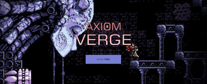 Gratis: Axiom Verge für PC bei Epic Games (statt 20€)