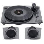 BIGBEN TD115 Plattenspieler mit 33, 45, 78 U/min in Schwarz für 99€ (statt 125€)