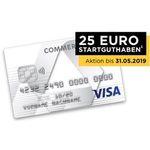 Prepaid Kreditkarte Commerzbank (im 1. Jahr kostenlos) + 25€ Startguthaben geschenkt