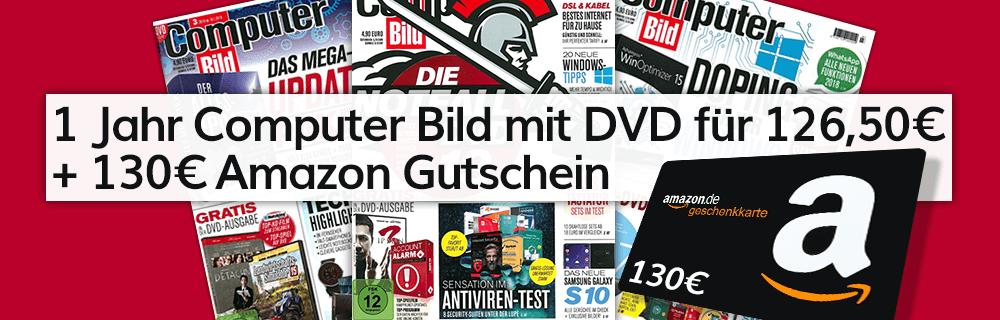Computer Bild mit DVD Abo