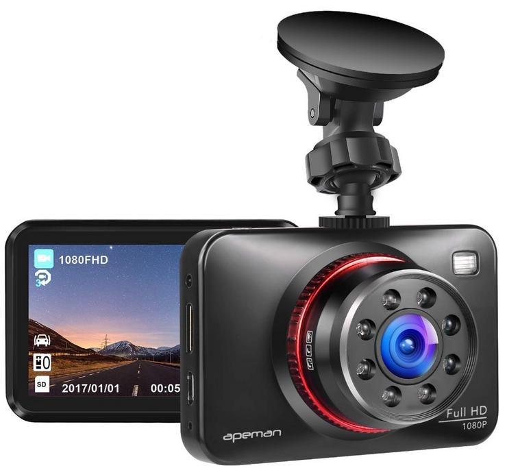 Apeman Dashcam C660 mit Full HD 1080P und Infrarot Funktion für 55,99€ (statt 78€)