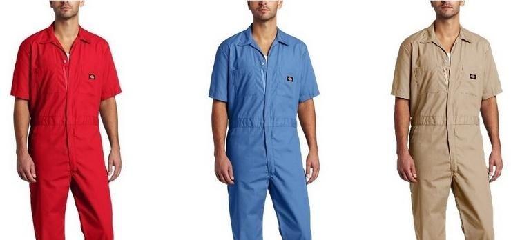 Dickies Deluxe Arbeitskleidung für nur 14,99€   nur noch Rot und Khaki in M und L