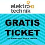 """Kostenlose Tagestickets für die """"elektrotechnik"""" in Dortmund"""