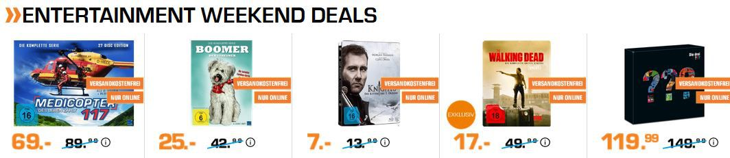 Saturn Entertainment Weekend Deals: z.B. Die drei ??? Limitierte Picture Vinyl Box für 119,90€ (statt 149€)