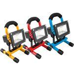 NINETEC – 10W LED Akku USB Strahler in drei Farben für je 17,77€ (statt 32€)