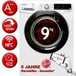 HOOVER DXOA Q49AHB7-84 9kg Inverter Waschmaschine A+++ für 349,90€ (statt 465€)