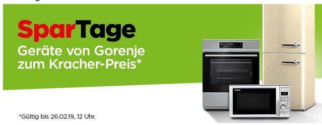 Gorenje Spartage bei AO z.B. Gorenje JC803O Entsafter für 49€ (statt 93€)