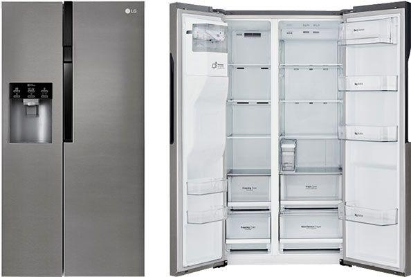 LG GSL 361 ICEZ Side by Side Kühl Gerfierkombination (A++) mit Eis  & Wasserspender für 1.038,90€ + 150€ MM Gutschein (statt 1.024€)