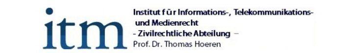Kostenlos: Internetrecht von Professor Thomas Hoeren