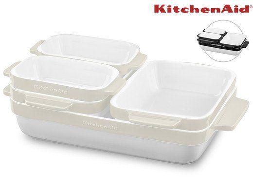 KitchenAid (KBLR05SB) 5 teiliges Keramikformenset für 58,90€ (statt 77€)