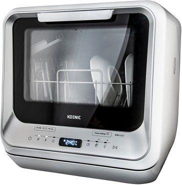 Koenic KDW 1112 Geschirrspüler (freistehend, 420 mm breit, 58 dB (A), EEK A) für 269,99€ (statt 310€) + 20€ Coupon