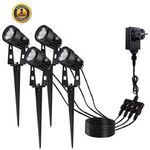 LED-Gartenlampen mit und ohne Solar IP65 schon ab 21,99€ bei Prime inkl. Versand (statt 39,99€)