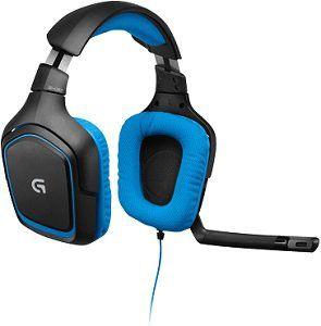 LOGITECH G430 Headset Schwarz/Blau für 33,95€ (statt 49€)