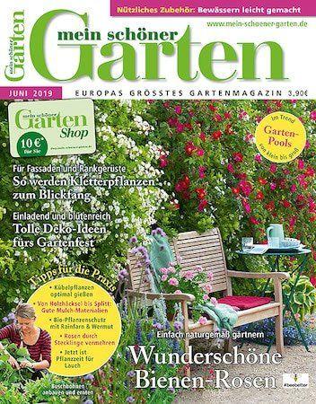 12 Ausgaben Mein schöner Garten für 48€ + Prämie: 30€ Verrechnungsscheck