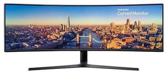 Riesiger Samsung C49J890 49 Curved Monitor Ultrawide für 707,29€ (statt 863€)